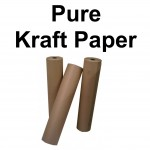 88gsm Brown Pure Kraft (Ribbed) Wrapping Paper