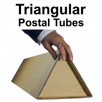 "5"" (127mm) Diameter Triangular Postal Tubes"