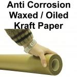 Waxed Kraft Paper Rolls - 900mm x 100m