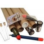 "17.3"" (440mm) Long x 1"" (25.4mm) Narrow Diameter Cardboard Postal Tubes"