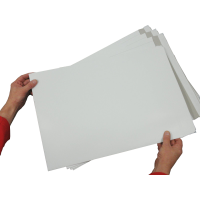 """100 x C3 / A3 WHITE Board Backed Envelopes 457mm x 324mm (18"""" x 12.75"""" appx) (2 Boxes)"""