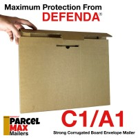 "C1 / A1 ParcelMax Mailers - 648mm x 917mm x 6mm (25.5"" x 36"" x 0.23"")"