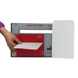 1 x Sample C5 / A5 PiP All Board White Envelope