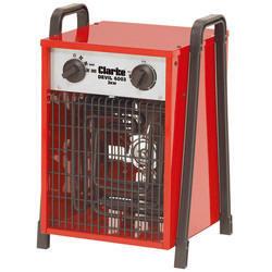 2 x Clarke Devil 6003 Industrial 3KW Electric Fan Heater (1Ph) Single Phase