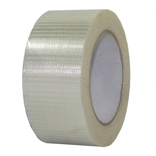 Extra Strong Cross weave Fibreglass Reinforced Filament Tape Heavy Duty Packing