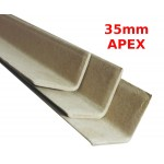 1500mm Long Cardboard Pallet Edge Protectors (35mm Apex)