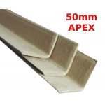 1000mm Long Wider Apex Cardboard Pallet Edge Protectors (50mm Apex)
