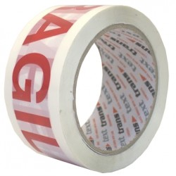1 x Roll Fragile Printed Tape - (ONLY AVAILABLE IF TOTAL ORDER EXCEEDS £20.00)