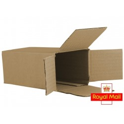 "FOL326 - (85mm x 65mm x 170mm) 3.3"" x 2.5"" x 6.6"" Fully Overlapping Corrugated Cartons - FEFCO Style 0203"