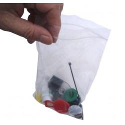 "Size 1 - 1.5"" x 2.5"" (40mm x 65mm) Polythene Grip Seal Bags"