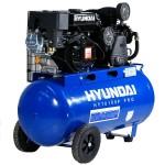 Hyundai HY70100P Petrol Air Compressor.