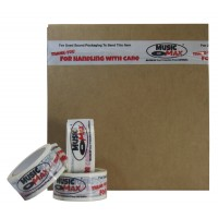 Extra Strong MusicMax Vinyl Record Mailer Tape - Handle With Care Vinyl Tape