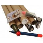"30.5"" (774mm) Long x 1"" (25.4mm) Narrow Diameter Cardboard Postal Tubes"