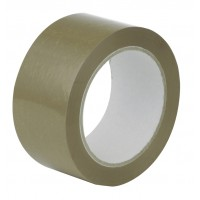 Brown Havana (Buff) Parcel Tape