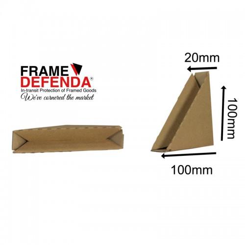 Cardboard Picture Frame Corner Protectors Spring Loaded Mirror