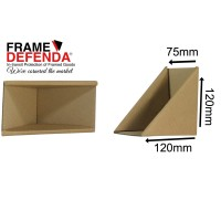 Size C - 75mm Self Gripping Picture Corner Protectors