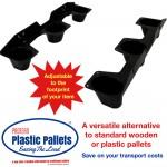 Protean Pallet Stak - Adjustable Plastic Pallets