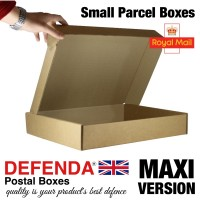 "Royal Mail Small Parcel Boxes (MAXI) - (449mm x 349mm x 79mm) 17.71"" x 13.7"" x 3.1"" (appx) - RM-MAXI-SPB - SHALLOW VERSION"