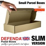 "Royal Mail Small Parcel Boxes (SLIM) - (422mm x 170mm x 73mm) 16.61"" x 6.7"" x 2.9"" (appx) - RM-SLIM-SPB"