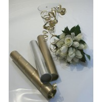 "Wedding Invitation Tubes - 1.5"" (38mm) Diameter"