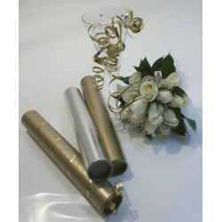 "1 x Sample A5 (175mm) Long 1.5"" (38mm) Diameter Wedding Tubes"