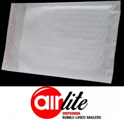 900 x AL1 Size DEFENDA Air Lite Padded Envelopes (90mm x 145mm Internal) (Jiffy Equivalent JL000)