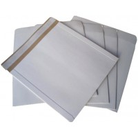 "12"" All Board White Vinyl Record Mailer Envelopes"