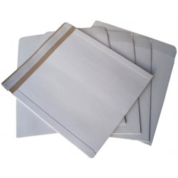 "50 x 12"" DEFENDA All Board White Vinyl Record Mailer Envelopes"