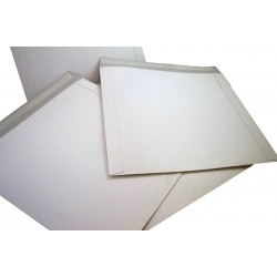 "25 x 7"" DEFENDA All Board White Vinyl Record Mailer Envelopes"
