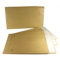 C4 / A4 Manilla Peel & Seal Gusset Envelopes