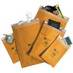 Fibre Lined Mail Lite Gold Padded Envelopes