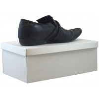 "Mens Shoe Box - (343mm x 210mm x 120mm) 13.5"" x 8.2"" x 4"" Single Wall Box & Lid"