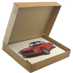 "25"" x 2.5"" x 19"" (635x65x482mm) Picture Boxes for Paintings, Prints or Photos. Code: STD-WR25219"