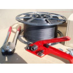 180kg Break Strain (Polypropylene) Hand Pallet Strapping / Banding Kit - NO STAND