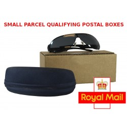 "FOL732 - (180mm x 80mm x 65mm) 7"" x 3"" x 2"" Fully Overlapping Corrugated Cartons - FEFCO Style 0203 (Small Parcel Sunglasses Box)"