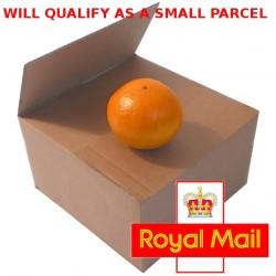 """210mm x 155mm x 50mm (8"""" x 6"""" x 2"""") - Small Cardboard Postal Boxes - SW862"""