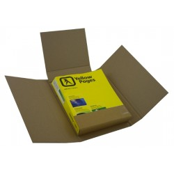 10 x DEFENDA Book Mailer / Twist Wrap Boxes
