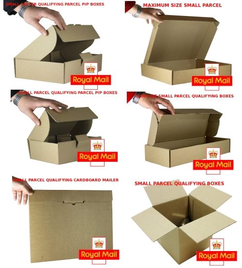 Royal Mail Small Parcel PiP Boxes Sample Pack